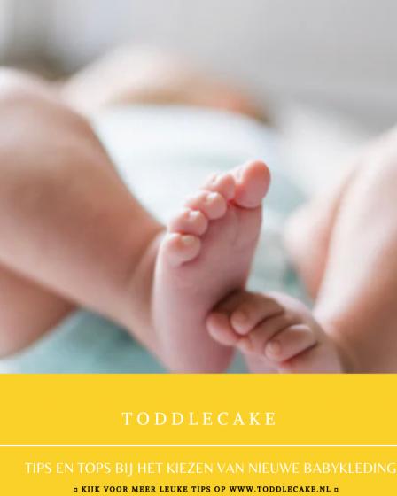 Tips en tops bij het kiezen van nieuwe babykleding