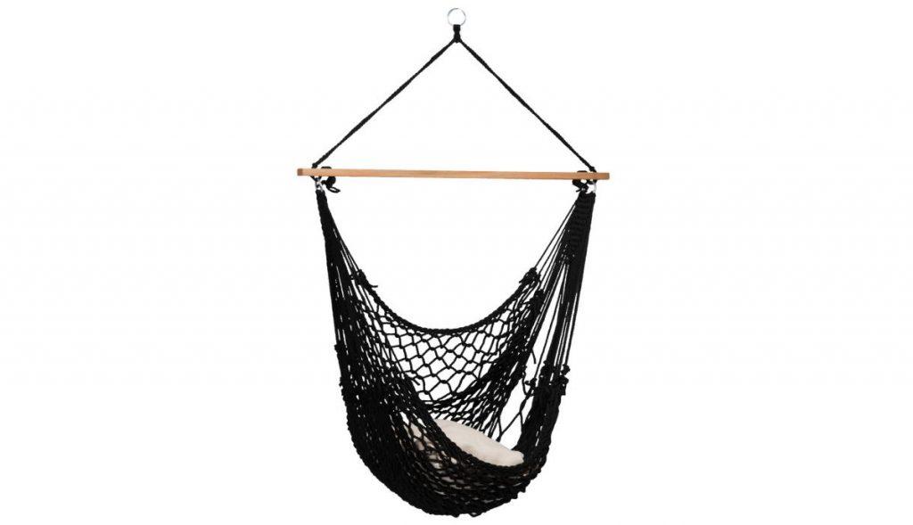 Tropisch chillen in een hangstoel